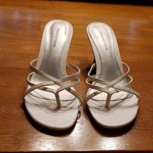 """Predictions 2"""" heel sandals"""